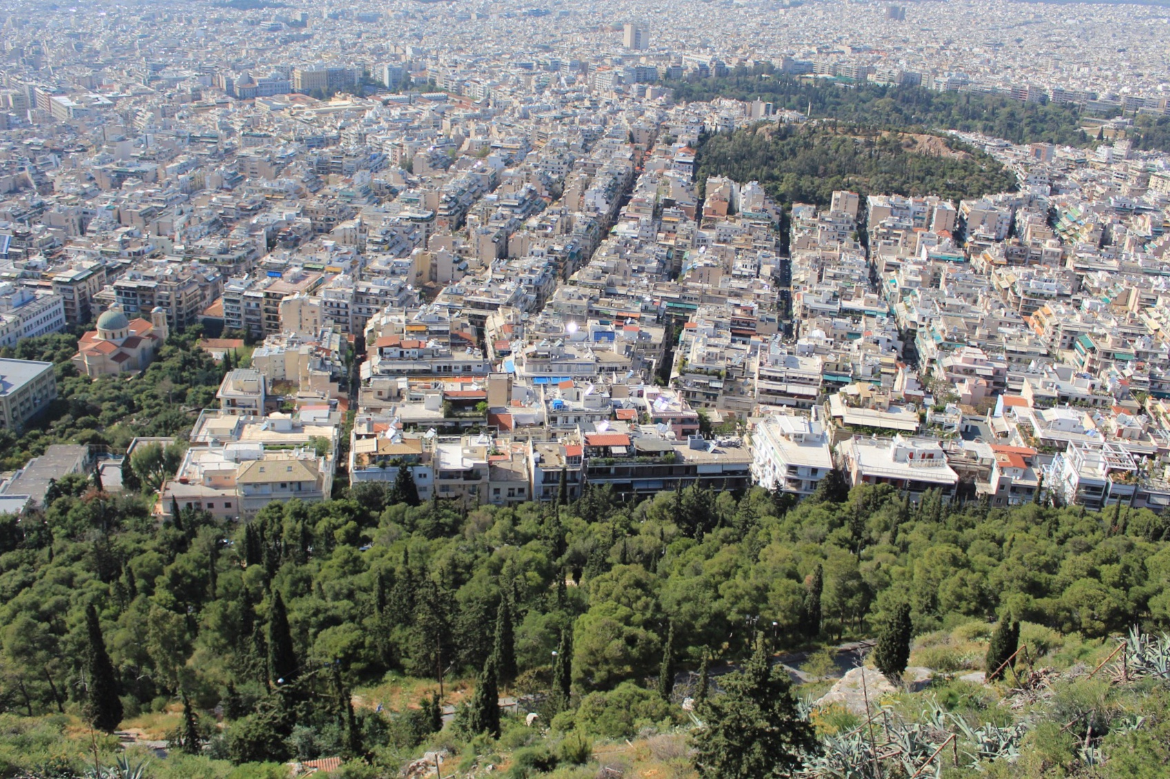 View from Lykabettus hill